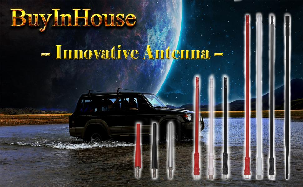 Antena de goma flexible Land Rover Defender antena de goma nuevo embalaje original Top