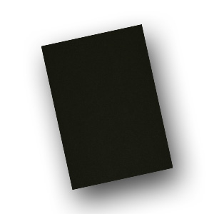 black card stock lightweight