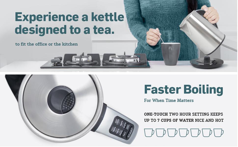 Epica Tea Kettle Features