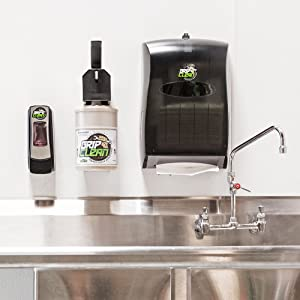 heavy duty wall mounted soap dispenser