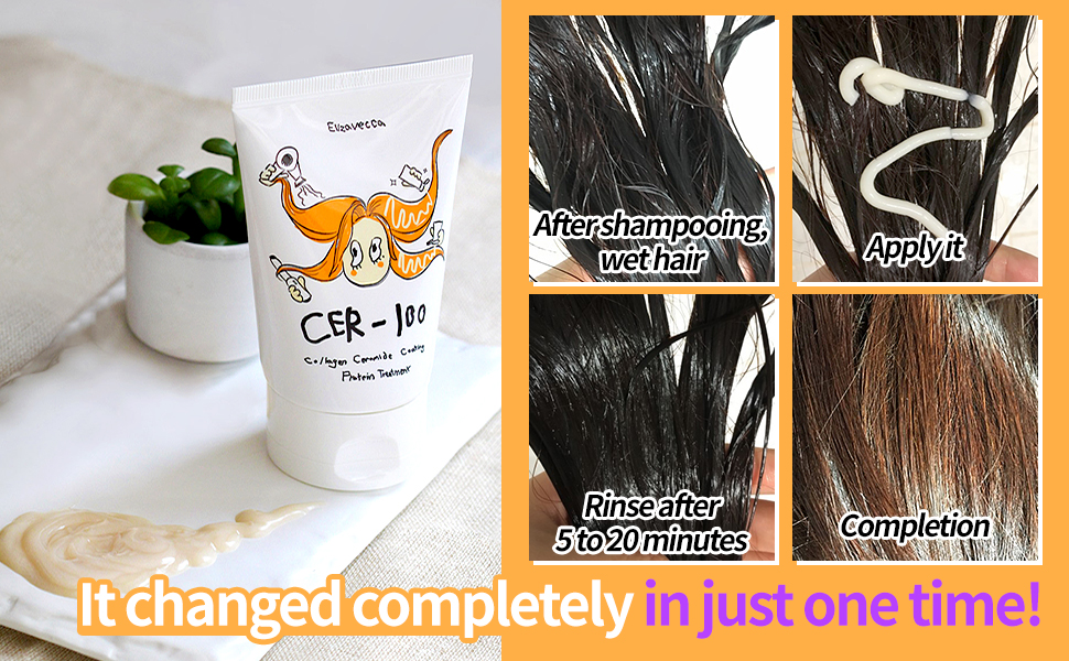 CER-100 Collagen Coating Hair Protein Treatment