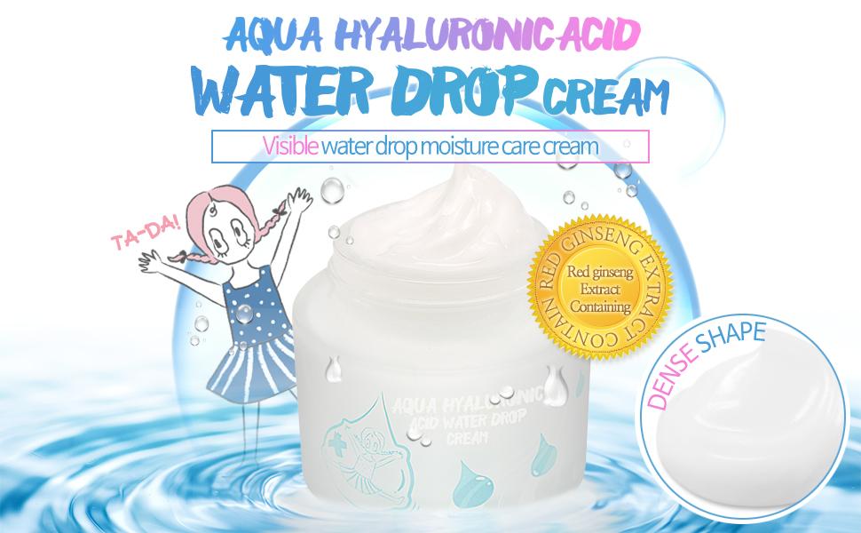 Hyaluronic acid water drop cream