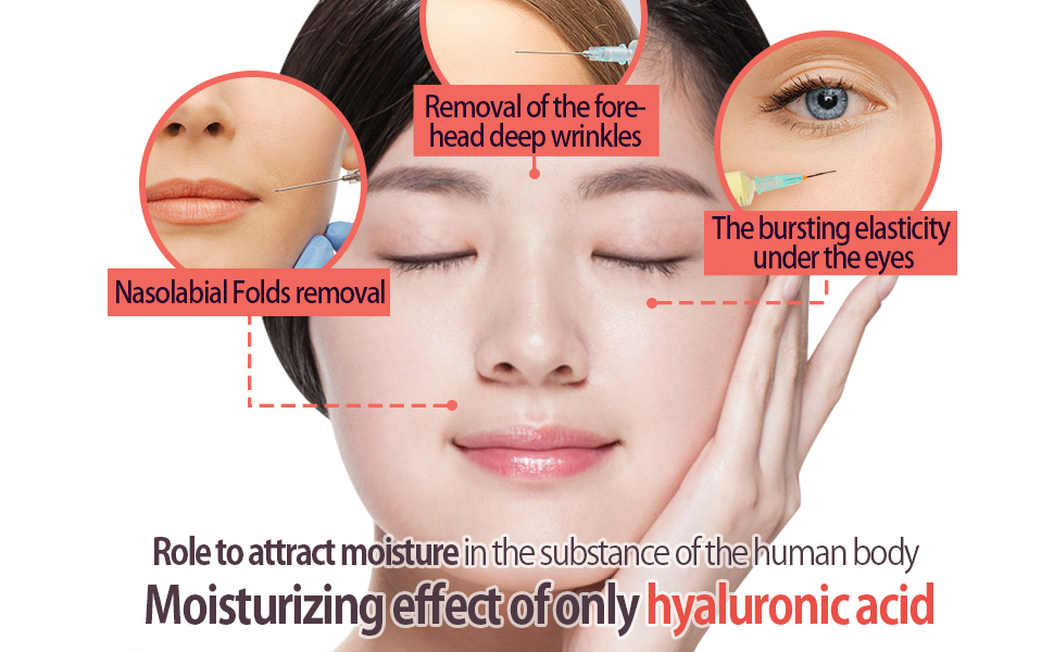 Moisturizing effect of only hyaluronic acid