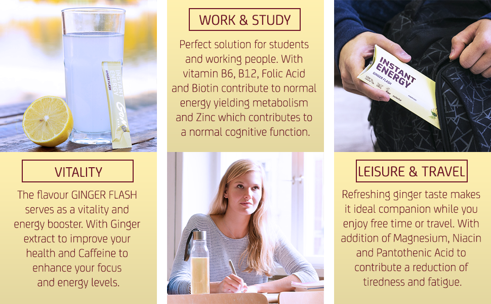 Ginger Flash usage and benefits