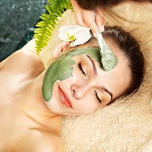 green tea matcha mud mask