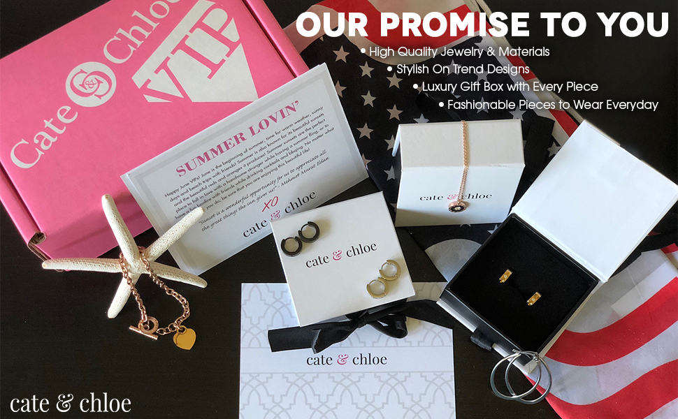 High quality fashion jewelry, earrings, necklaces, rings, bracelets, jewelry sets in gift boxes