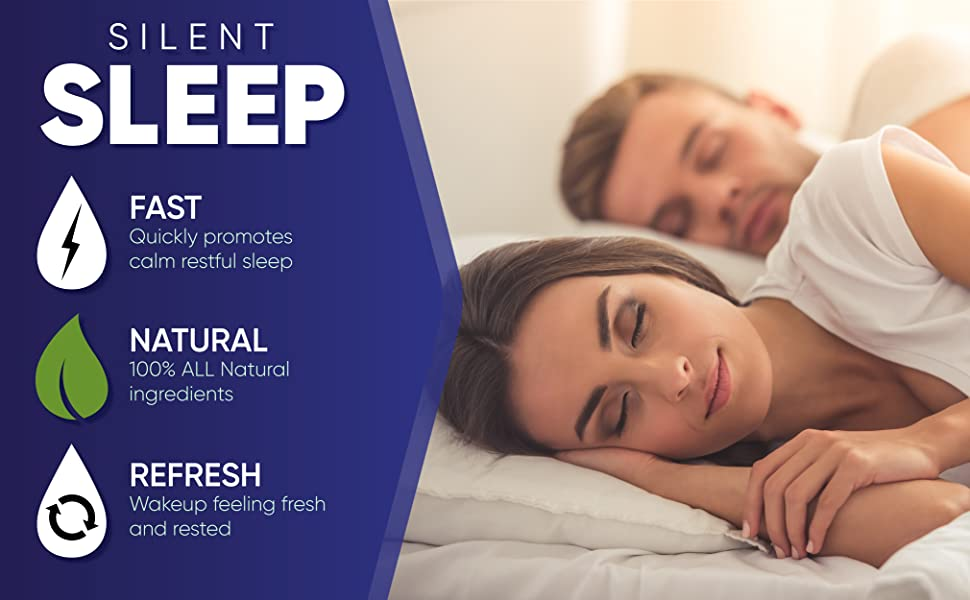 Silent sleep fast natural refresh