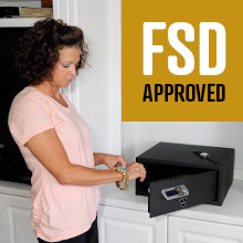 Verifi Smart.Safe. Biometric Gun Safe FSD Approved