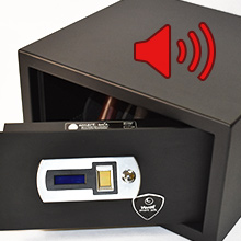 Verifi Smart.Safe. Biometric Gun Safe Open Door Alert