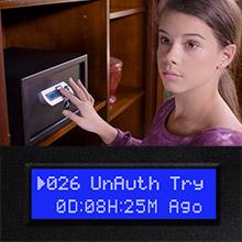 Verifi Smart.Safe. Biometric Gun Safe Alerts and Alarms