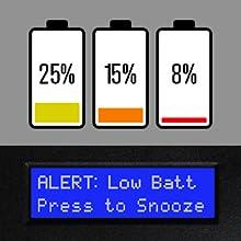 Verifi Smart.Safe. Biometric Gun Safe Battery Health Monitoring