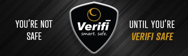Verifi Smart.Safe. Biometric Gun Safe Logo