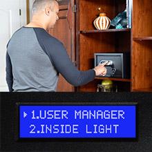 Verifi Smart.Safe. Biometric Gun Safe Easy User Management