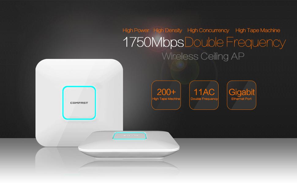 Amazon.com: 1750 Mbps techo Wireless AP Repetidor WiFi ...