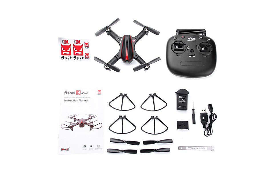 Bright Mjx B3 Mini 2.4gh 4ch Brushless 1306 2750kv Motor Drone Angle And Acro Mode Flip & Roll Rc Quadcopter Drone With Led Light Rc Helicopters