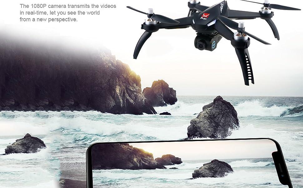 Adjustable 5.8G 1080P 30fps Wi-Fi HD camera (300m FPV distance),