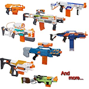 Amazon currently has BOGO 50% off Nerf guns for a limited time