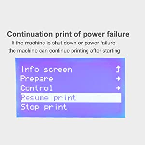cr 10 mini has different mainboard and firmware from cr 10 can print better quality models cr 10 mini has the ability to resume prints even after a power
