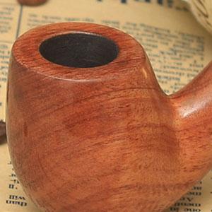 Pear Wood Bent Smoking Pipe