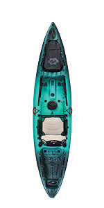 Amazon.com : Vibe Kayaks Sea Ghost 110 11 Foot Angler Sit
