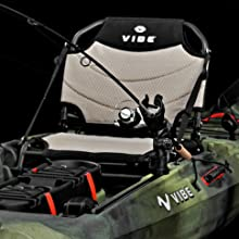 Framed Kayak Seat, Integrated Gear Tracks, Comfort Grip Kayak Handles, Center Console Storage