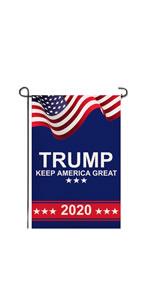 trump garden flag
