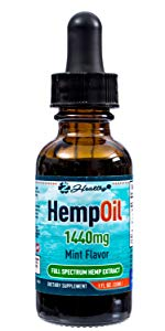 1440mg hemp oil
