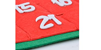 Thickness for felt material: 3mm