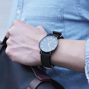 Amazon.com: Fullmosa - Correa para reloj de piel de la OTAN ...