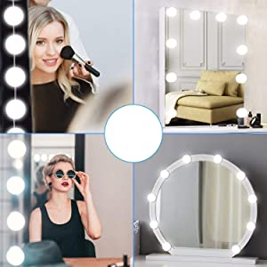 led lights for mirror