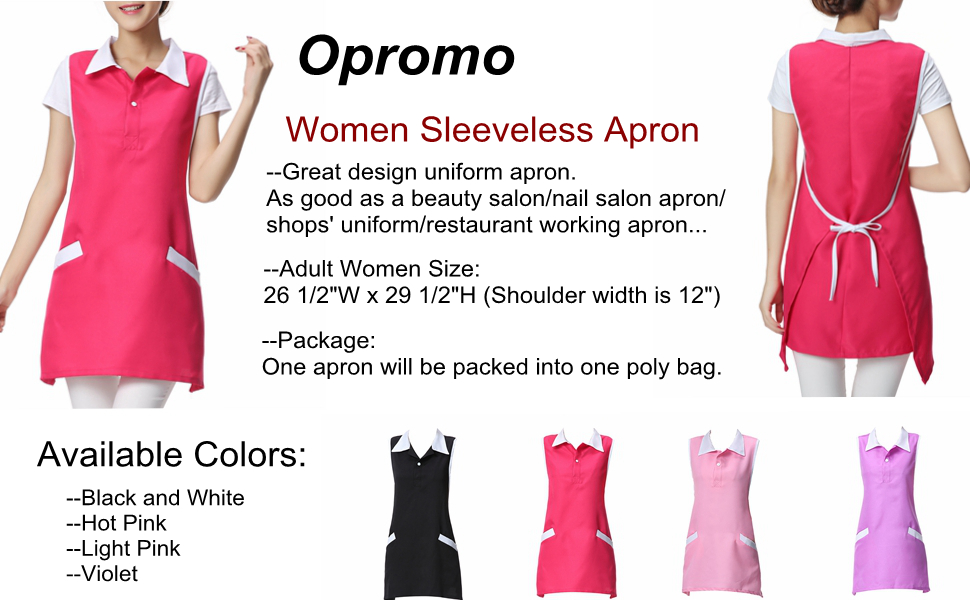 d83e45fd691 This apron is be made of professional uniform fabric--cotton polyester,  sweat-absorbent and breathable, lightweight and anti-fouling, also support  machine ...