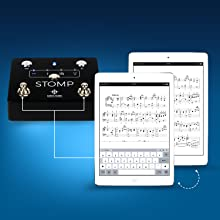 virtual keyboard for taking notes on sheet music and chord charts
