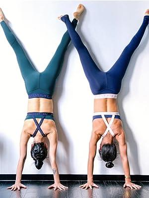 Amazon.com: OVESPORT - Pantalones de yoga para mujer con ...