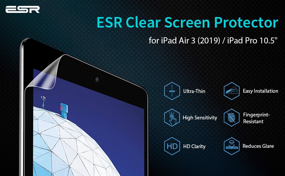 ipad air 3 screen protector