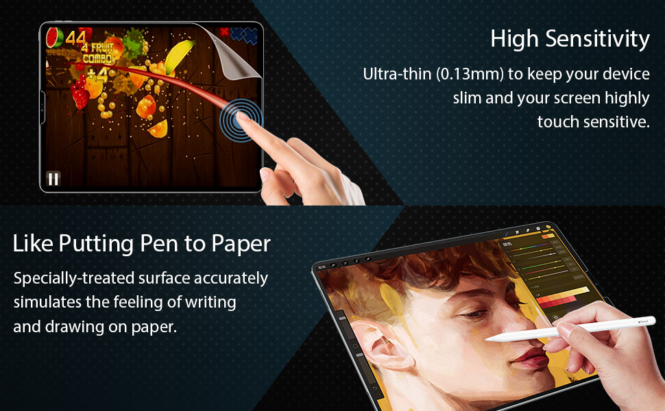 paperlike screen protector for ipad pro11