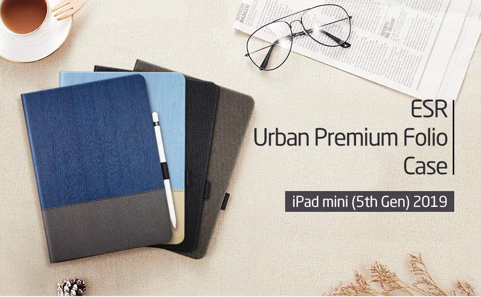 ESR ipad mini 5 case with pencil holder