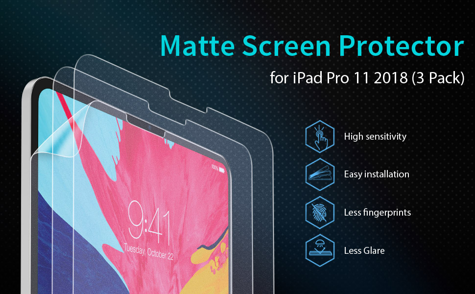 matte screen protector for ipad pro 11 inch