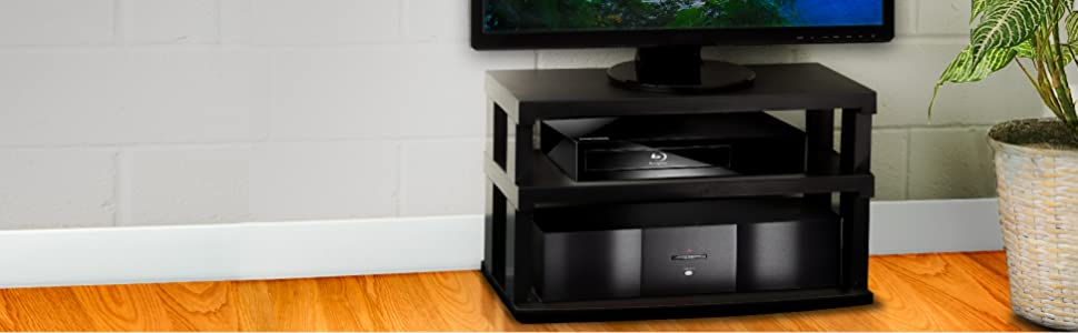 tv swivel 360 degree entertainment stand