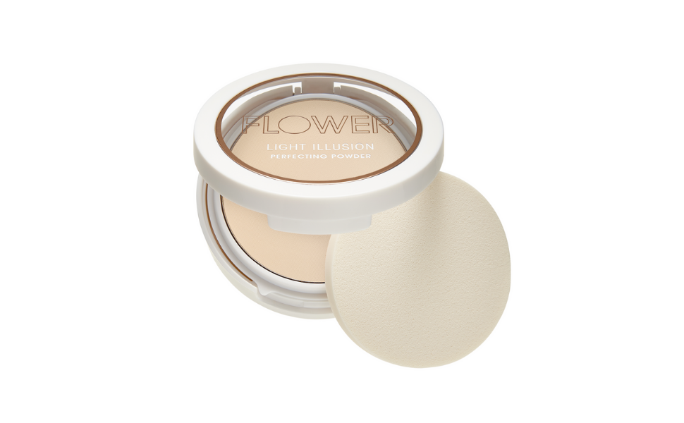 Flower Beauty Light Illusion Perfecting Powder, Porcelain