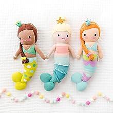 Amazon.com: Muñeca de tejido a mano de cordero Lucy de la ...