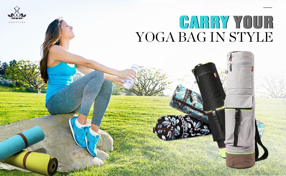 heathyoga yoga bag