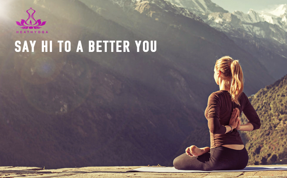 Amazon.com: Rodillera de yoga Heathyoga, ideal para rodillas ...