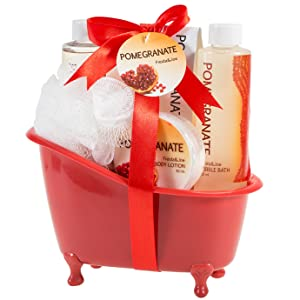 bath and body works basket bubble set lotion set for women womens gifts gift spa present holiday