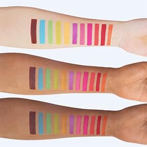 bright colors palette