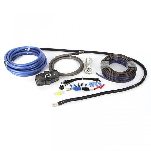 amazon com nvx true spec 4 gauge 100 copper single amp wiring kit rh amazon com