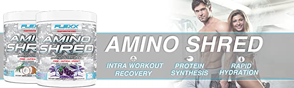 Amino Shred fat burning intra workout and recovery drink