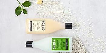 shampoo and conditioner set coconut oil argan oil mint leaf aloe haircare sooth scalp moisturize