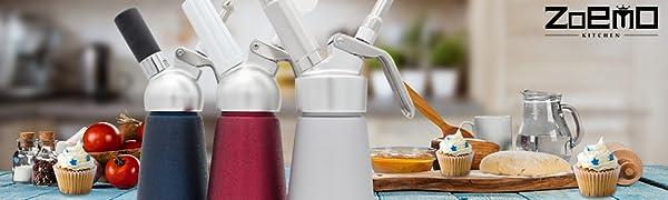 Amazon.com: zoemo Professional aluminio – Dispensador de ...