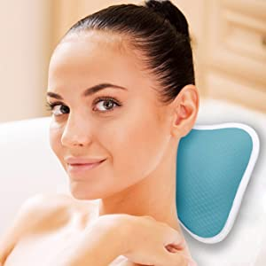 portable spa pillow