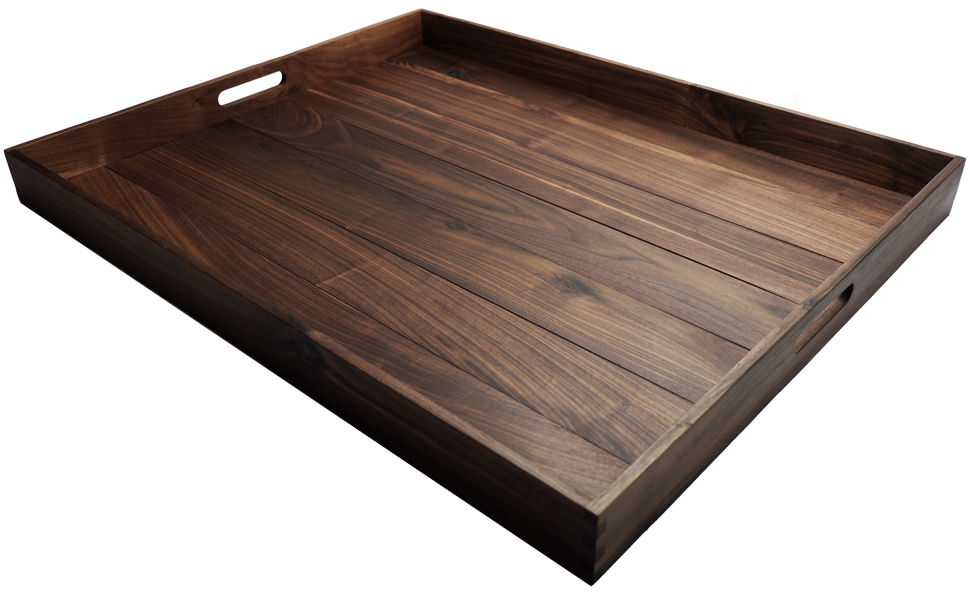 handmade extra large ottoman tray wood tray square tray rustic tray